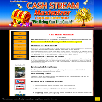 Cash Stream Maximizer