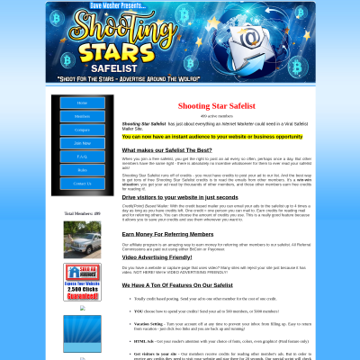 Shooting Stars Safelist